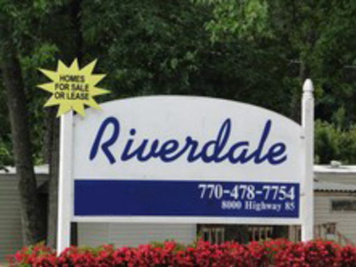 Riverdale Georgia Mobile Homes For Rent Sale Sign