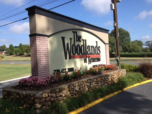 Woodlands Of Kennesaw Georgia Mobile Homes For Rent Sale Entrance Sign