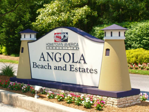 Angola Beach Estates MHC | 90 Homes Available | 22971