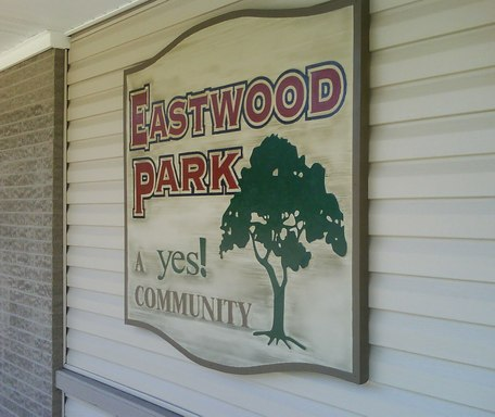 Eastwood Park Morristown Tennessee Mobile Homes For Rent For Sale Sign