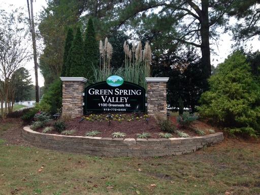 Greenspringvalleyraleighnorthcarolinamobilehomesforrentforsale entrancesign4