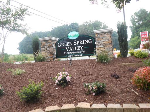 Greenspringvalleyraleighnorthcarolinamobilehomesforrentforsale entrancesign3