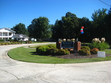 Mc Connell Crossing Greensboro North Carolina Mobile Homes For Rent For Sale Clubhouse Sign