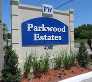 Parkwood Estates Plant City Florida Mobile Homes For Rent For Sale Entrance Sign