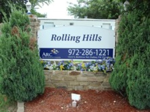 Rollinghillsdallastexasmobilehomesforrentforsale oldsign