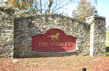 The Stables Sevierville Tennessee Mobile Homes For Sale For Rent Entrance Sign