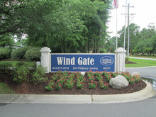 Wind Gate Summerville South Carolina Mobile Homes For Rent For Sale Entrance Sign
