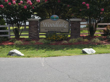 Woodlake Greensboro North Carolina Mobile Homes For Rent For Sale Entrance Landscape