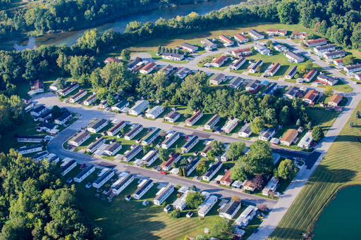Aerial View Mh Park
