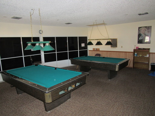 Ranchero village billiards room