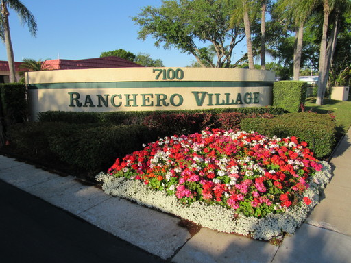 Ranchero village entrance 1