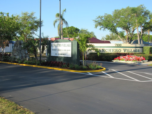 Ranchero Village Entrance