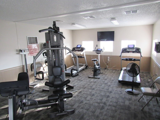 Ranchero village fitness room